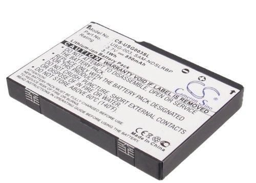 Nintendo CS-USG003SL Akkus 850mAh DS, DS Lite, NINTENDO, C/USG-A-BP-EUR, SAM-NDSLRBP, USG-001, USG-003