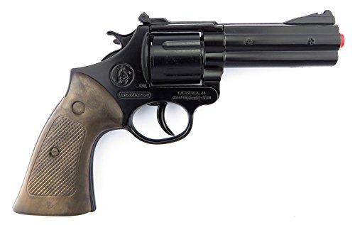 Gonher - Pistole Polizei 12 schuss, Schwarze Farbe (127/6)