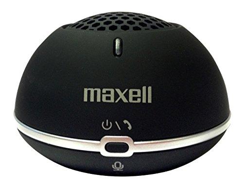 Maxell MXSP-BT01 Bluetooth-Lautsprecher (2 Watt) mit Freisprechfunktion schwarz Maxell Mp3-player