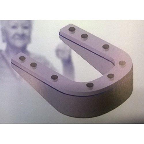 Comfort Seat ergonomische WC-Sitzerhöhung, Farbe: Weiß, CMS-EVA