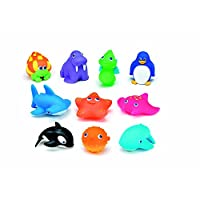 UMKY Sea Squirtin Water Buddies Bath Squirters Toys (Pack of 10)