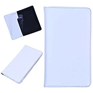 DCR Pu Leather case cover for Lenovo S850 (white)