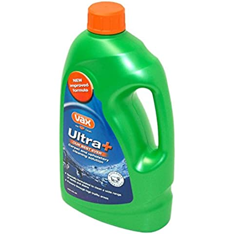 VAX ULTRA & VAX CARPET UPHOLSTERY SHAMPOO pulizia 1,42L, 10