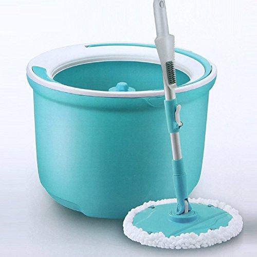 GAOJIAN Rotierende Mikrofaser Tuch Ersatz Mop Kopf Küche Badezimmer Super-absorbierende saubere Mop Kopf ersetzen Tuch