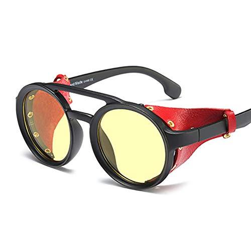 FYrainbow Sonnenbrillen, Nieten-Männer und Frauen Sonnenbrillen eignen Sich am besten zum Angeln Golf Golf Outdoor-Reisemöglichkeiten UV400,B