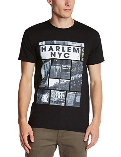 Minted Travel Herren T-Shirt Schwarz - Schwarz