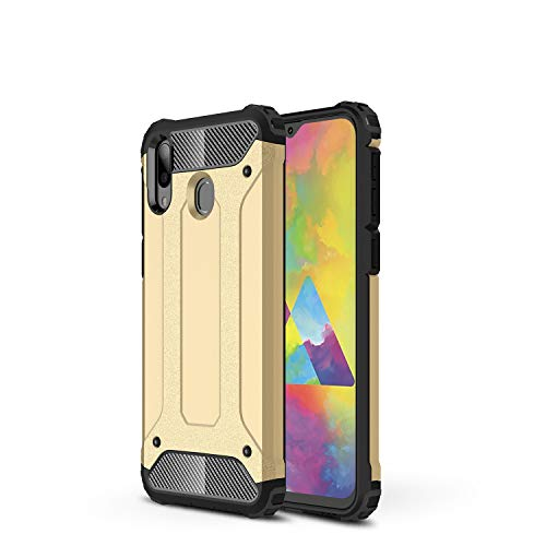 TANYO Funda Adecuado Para Samsung Galaxy M20 Heavy Duty Anti Caida Phone Case
