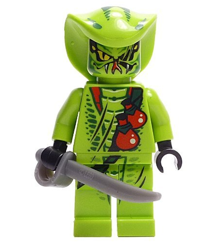 LEGO Ninjago - Minifigura Lasha con sable