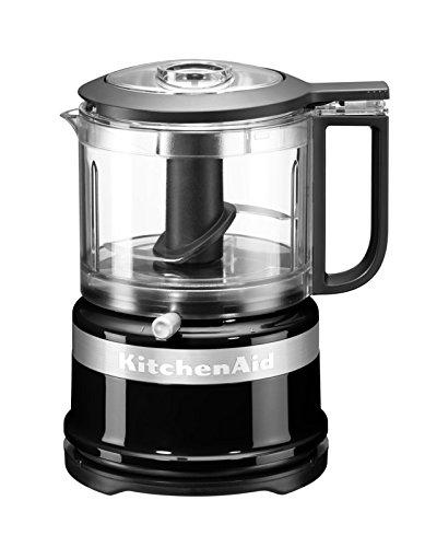 KitchenAid 5KFC3516EOB,Mini-Food-Processor,Großartig zum Hacken, Vorbereiten von Dressings und Saucen, onyx schwarz