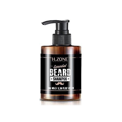 Shampoo Barba e Baffi H-Zone Essential Beard Shampoo 100ml Renèe Blanche