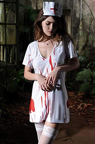 Halloween Horror Bloody Arzt Vampir Krankenschwester Kostüm Cos Ghost Festival Ball Spielen, f