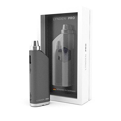 LYNDEN® PRO Mod Kit - Mod Box Akkuträger, E Zigarette Starterset, 10 - 30w, 0,5 & 1,5 Ohm, 2 ml Verdampfer Tankvolumen, ohne 18650 Akku e-Shisha