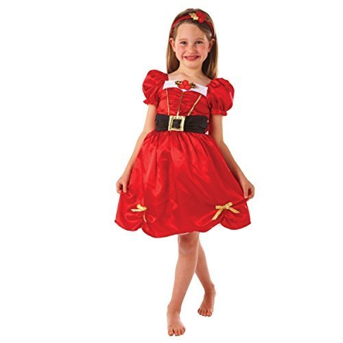 Christys Dress Up Miss Santa-Kleid, 6-8 Jahre