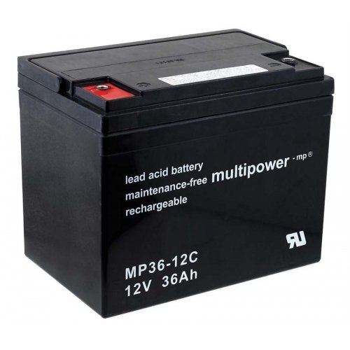 Preisvergleich Produktbild Premium Powery Bleiakku (multipower) MP36-12C zyklenfest,  Lead-Acid,  12V