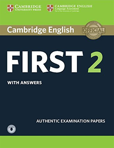 Cambridge English first (FCE) 2 Student's book with answers & audio download: 1