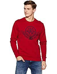 Arrow Sports Men's Cotton Sweatshirt