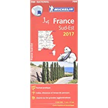 Carte France Sud-Est Michelin 2017