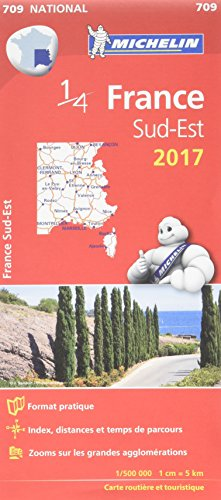 Carte France Sud-Est Michelin 2017