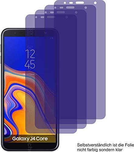 4X ANTIREFLEX matt Schutzfolie für Samsung Galaxy J4 Core Bildschirmschutzfolie Displayschutzfolie Schutzhülle Bildschirmschutz Bildschirmfolie Folie
