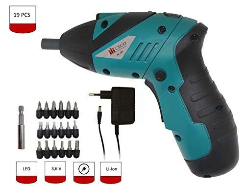 Cacciavite elettrico ricaricabile, batteria agli ioni di litio da 3,6 V, per il montaggio di mobili da cucina, armadi, scaffali, ecc.