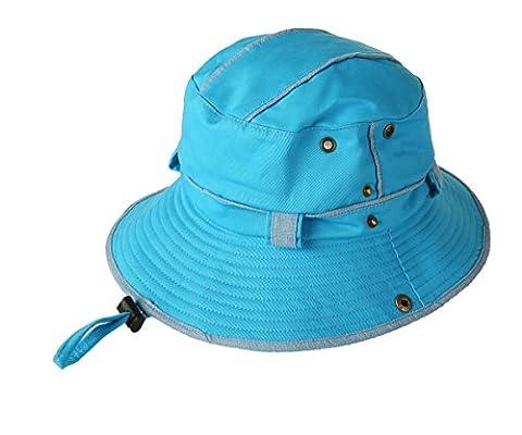 GUMO-Chapeau de soleil chapeau pêcheur alpinisme visor cap pliage UV