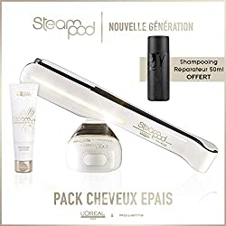 Pack Steampod 2.0 + Crème + Shampooing Reparateur Fortifiant offert