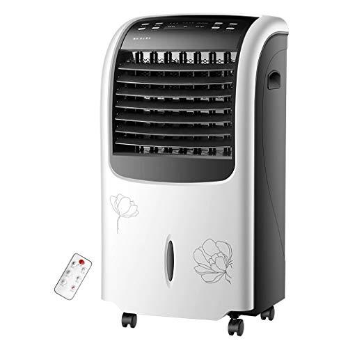CYLQ Mobile Klimaanlage Mit Fernbedienung 4 In 1 Tragbar Kühlung, Heizung Luftbefeuchter Luftreiniger 15H Timer, 3 Lüftergeschwindigkeiten Zuhause Büro Weißes Gold (Color : White)