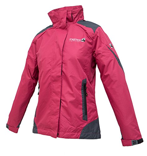 DEPROC-Active Damen Outdoorjacke und Winterjacke Rokky, Rot (Darkred 190), 54033-630-48 EU
