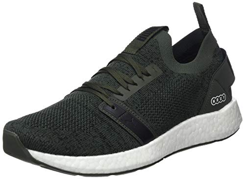 Puma Nrgy Neko Engineer Knit, Zapatillas de running para Hombre, Verde Forest Night Black 05, 41 EU...