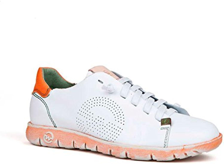 Sneaker Zapatilla Mujer KRAZ-W Calf Naranja Slowwalk