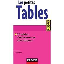 Les petites Tables - 17 tables financières et statistiques