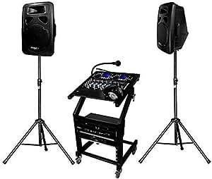 Pack Sono DJ complet 1000 W DJ-LEADER-500