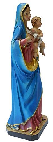 Kaltner Präsente Geschenkidee - Deko Figur Mutter Gottes Maria Madonna mit Jesus Kind - 2