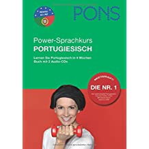 PONS Power-Sprachkurs für Anfänger Portugiesisch. Buch und 2 Audio-CDs: Lernen Sie Portugiesisch in 4 Wochen