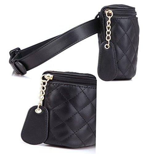 TTD Bolso dulce del teléfono móvil del bolso de Fanny de la pequeña cintura de la moda de la manera para las mujeres y las muchachas-Tipo B