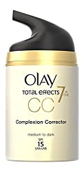 Olay SPF 15 Total Effects CC Cream Complexion Corrector for Women, Medium to Dark, 1.7 Ounce