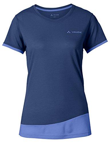 Vaude Damen Women's Sveit T-Shirt, Sailor Blue Uni, 38