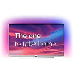 TV LED 4K 164 cm Philips 65PUS7304 - Téléviseur LCD 65 Pouces - TV Connectée : Smart TV - Androit TV - Netflix - Tuner TNT/Câble/Satellite
