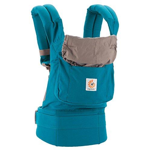 Ergobaby Babytrage Kollektion Original (5,5 – 20 kg), Teal