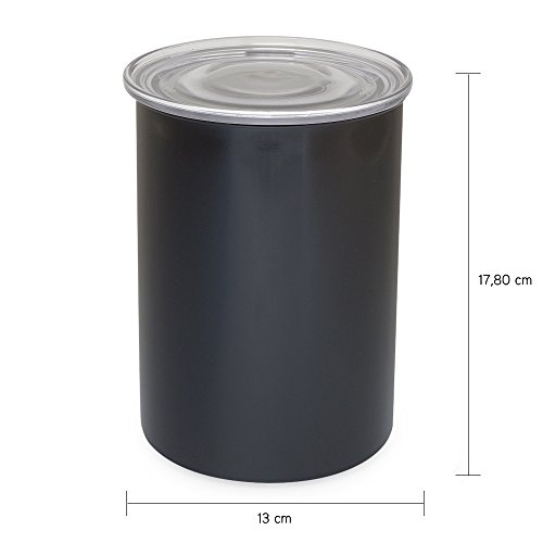 Airscape Vorratsbehälter Frischhaltedosen Vorratsdosen Aufbewahrungsdosen Edelstahldose Kaffeedose...