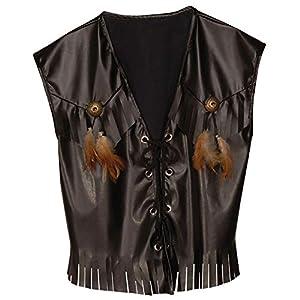 WIDMANN xL occidental Chaleco Leatherlook Traje Extra Grande de oeste salvaje vestido de lujo