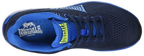 Lonsdale Herren Lisala Outdoor Fitnessschuhe Blau (blu Navy / Blu Reflex)