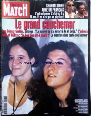 paris-match-no-2467-du-05-09-1996-sharon-stone-aime-un-francais-le-grand-cauchemar-les-belges-revolt