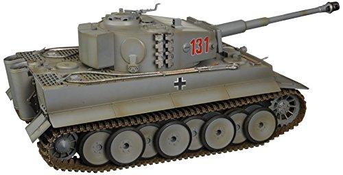 Torro 708 - Panzer Tiger 1, Maßstab 1/16 mit Infrarot Gefechtsystem 2.4 GHz proportionale Steuerung, wintergrau - 2