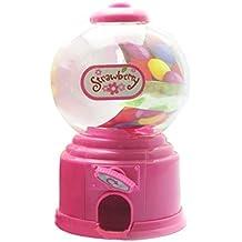 Gosear Mini Máquina Expendedora de Habas de Jalea Chicles Gomitas Azúcar Caramelo de Gumball/Dispensador