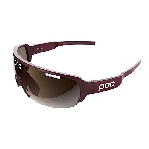POC Do Half Blade Gafas de Sol, Unisex Adulto, Rojo (Thaum Red), Talla Única