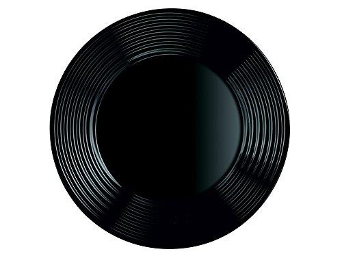 Dajar Plato Llano, Negro, 25 cm