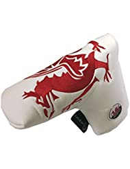 WALES PATRIOT BLADE STYLE PUTTER COVER BY ASBRI GOLF