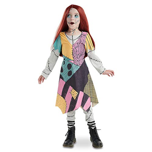 (Sally Kostüm für Kinder, Disney Store Original - Größe 7/8 Jahre)