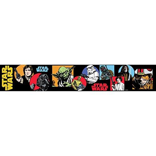 Tapete Grenze Einfügen (Star Wars Cartoon selbst Selbstklebende Tapete Grenze 5m)